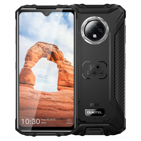 OUKITEL WP8 Pro Global Version IP68&IP69K Waterproof NFC Android 10 5000mAh 6.49 inch 16MP Triple Rear Camera 4GB 64GB MT6762D 4G Smartphone
