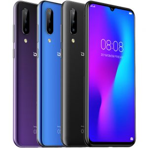DOOGEE N20 6.3 inch FHD+ Android 9.0 4350mAh Triple Rear Cameras 16MP Front Camera 4GB 64GB Helio P23 4G Smartphone