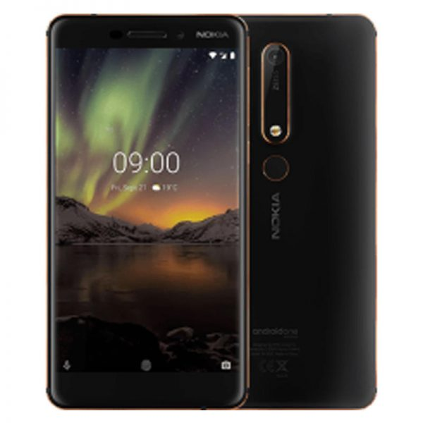 Nokia 6.1 TA-1043 Global Version 5.5 inch FHD NFC Android 9.0 16MP+8MP Cameras 3GB RAM 32GB ROM Snapdragon 630 Octa Core 4G Smartphone