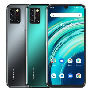 UMIDIGI A9 Pro Global Bands 6.3 inch FHD+ Infrared Thermometer 4GB 64GB Helio P60 Android 10 4150mAh 32MP AI Matrix Quad Camera 3 Card Slots 4G Smartphone