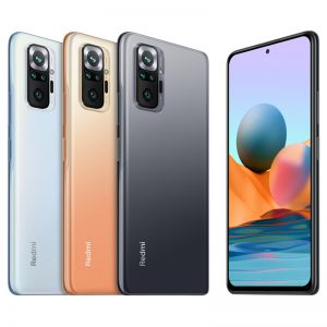 Xiaomi Redmi Note 10 Pro Global Version 6GB 128GB 108MP Quad Camera 6.67 inch 120Hz AMOLED Display 33W Fast Charge Snapdragon 732G Octa Core 4G Smartphone