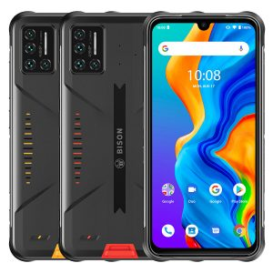 UMIDIGI BISON Global Bands IP68&IP69K Waterproof NFC Android 11 5000mAh 8GB 128GB Helio P60 6.3 inch FHD+ 48MP Quad Rear Camera 24MP Front Camera 4G Smartphone